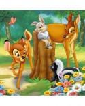 Puzzle Ravensburger - Bambi, 25/36/49 piese (07210)
