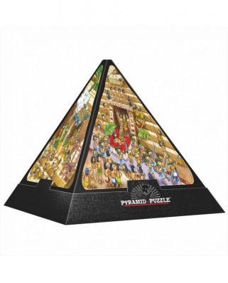 Puzzle 3D D-Toys - Pyramid - Egypt: Cartoon, 504 piese dificile (Dtoys-65964-PC01-(65964))