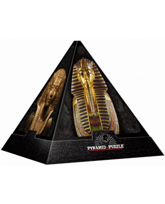 Puzzle 3D D-Toys - Pyramid - Egypt: Masks, 500 piese dificile (DToys-65957-PP02-(70432))