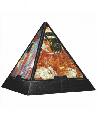 Puzzle 3D D-Toys - Pyramid - Egypt: Paintings, 500 piese dificile (DToys-65957-PP03-(70425))