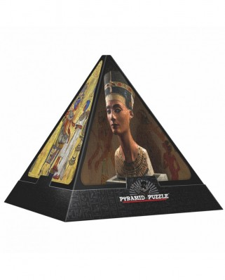 Puzzle 3D D-Toys - Pyramid - Egypt: The Gods, 500 piese dificile (Dtoys-65957-PP01-(65957))