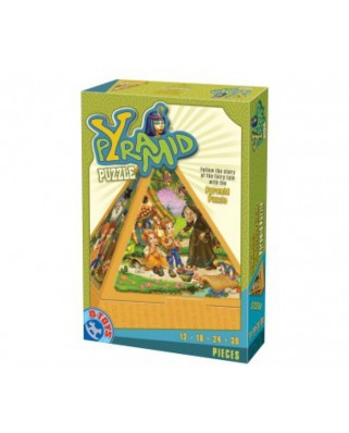 Puzzle 3D D-Toys - Pyramid: the Hansel and Gretel story, 84 piese (Dtoys-64868-PR-01)