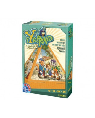 Puzzle 3D D-Toys - Pyramid: The Pinnochio story, 84 piese (Dtoys-64868-PR-02)