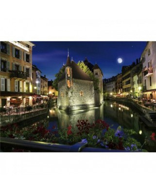 Puzzle D-Toys - Annecy, France, 1.000 piese (DToys-64301-NL06-(70531))