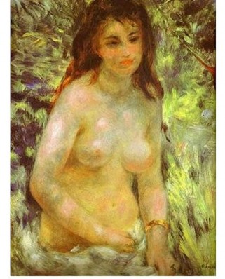 Puzzle D-Toys - Auguste Renoir: Naked in the Sun, 1000 piese (Dtoys-66909-RE04-(70326))