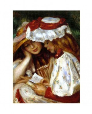 Puzzle D-Toys - Auguste Renoir: Two Young Women Reading, 1.000 piese (Dtoys-66909-RE02-(70289))