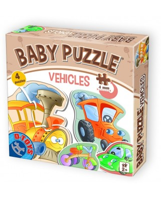 Puzzle D-Toys - Baby Puzzle, 2/3/4 piese (Dtoys-71279-BP-01)