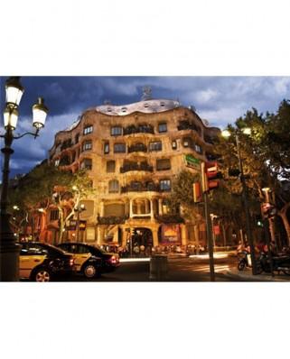 Puzzle D-Toys - Casa Mila, Barcelona, Spain, 500 piese (Dtoys-50328-AB32-(69313))