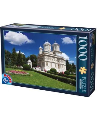 Puzzle D-Toys - Curtea de Arges Monastery - Roumania, 1.000 piese (Dtoys-63038-MN14)