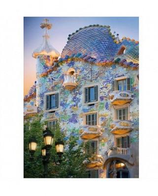 Puzzle D-Toys - Discovering Europe: Casa Batllo, Barcelona, Spain, 1.000 piese (DToys-65995-DE04-(70357))