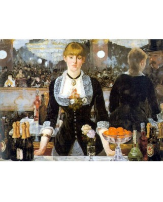 Puzzle D-Toys - Edouard Manet: Bar at the Folies-Bergeres, 1.000 piese (DToys-66961-IM01)