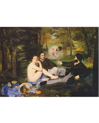 Puzzle D-Toys - Edouard Manet: Breakfast on the Grass, 1.000 piese (DToys-66961-IM09)