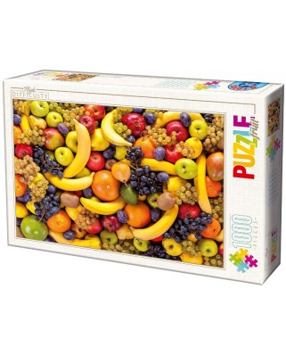 Puzzle D-Toys - Fruits, 1.000 piese dificile (Dtoys-71958-HD01-(71958))