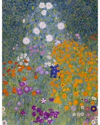 Puzzle D-Toys - Gustav Klimt: Farm Garden, 1.000 piese (Dtoys-66923-KL09-(74546))