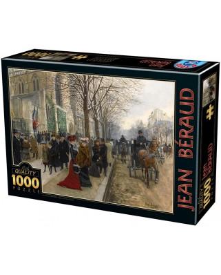 Puzzle D-Toys - Jean Beraud: La Belle Epoque, 1000 piese (Dtoys-75741)