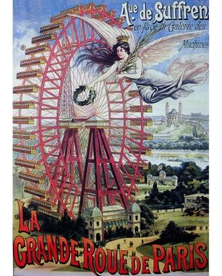 Puzzle D-Toys - La Grande Roue de Paris, 1.000 piese (Dtoys-67555-VP18)