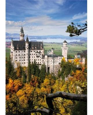 Puzzle D-Toys - Neuschwansstein Castle, 1.000 piese (DToys-62154-EC14)