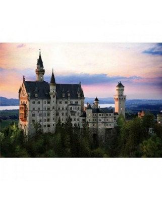 Puzzle D-Toys - Neuschwanstein Castle, Germany, 1.000 piese (DToys-64301-NL07)