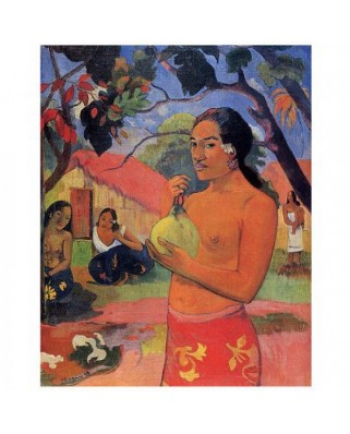 Puzzle D-Toys - Paul Gauguin: Where are you going ?, 1.000 piese (DToys-66961-IM06)