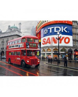 Puzzle D-Toys - Piccadilly Circus, London, 1.000 piese (Dtoys-64301-NL01-(64301))