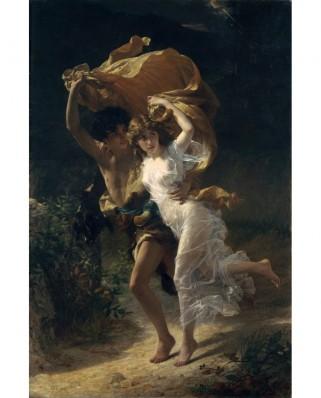 Puzzle D-Toys - Pierre-Auguste Cot: The Storm, 1880, 1.000 piese (Dtoys-72740-CO01-(72740))