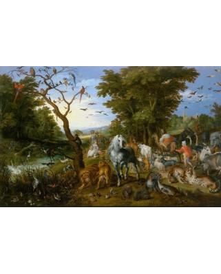 Puzzle D-Toys - Pieter Bruegel: Noah's Ark, 1.000 piese (DToys-73778-BR02-(75253))