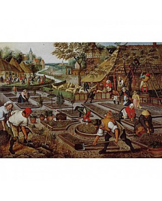 Puzzle D-Toys - Pieter Bruegel: Spring, 1.000 piese (Dtoys-66947-BR01-(66947))