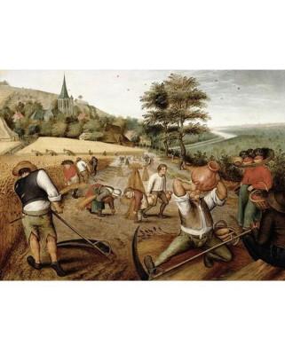 Puzzle D-Toys - Pieter Bruegel: Summer, 1.000 piese (DToys-66947-BR02-(70029))