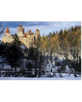 Puzzle D-Toys - Romania - Bran Castle, 500 piese (DToys-63052-RM05)