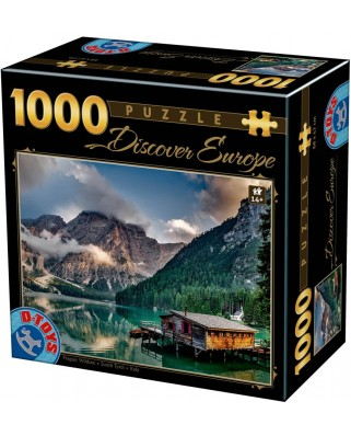Puzzle D-Toys - Tyrol, 1000 piese (Dtoys-75949)