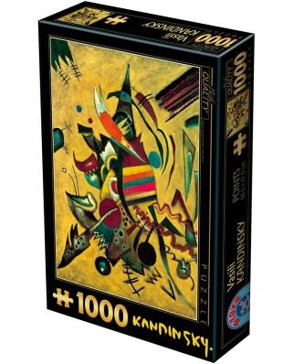Puzzle D-Toys - Vassily Kandinsky: Points, 1.000 piese (Dtoys-72849-KA04)