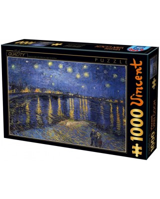 Puzzle D-Toys - Vincent Van Gogh: Night Stars, 1.000 piese (Dtoys-66916-VG11-(74928))