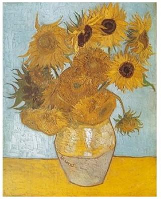 Puzzle D-Toys - Vincent Van Gogh: Sunflowers, 1.000 piese (Dtoys-66916-VG01-(74157))