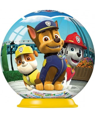 Puzzle 3D Ravensburger - Paw Patrol, 54 piese (72078-11917-01)