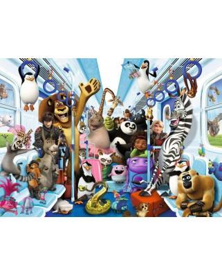 Puzzle Ravensburger - DreamWorks, 1.000 piese (13975)