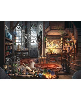 Puzzle Ravensburger - Exit Puzzle - In the Dragon Lab, 759 piese (19954)