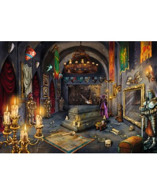 Puzzle Ravensburger - Exit Puzzle - In the Vampire Castle, 759 piese (19955)