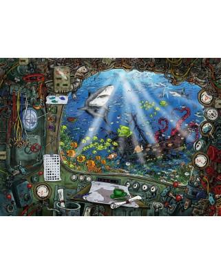 Puzzle Ravensburger - Exit Puzzle - Submarine, 759 piese (19953)