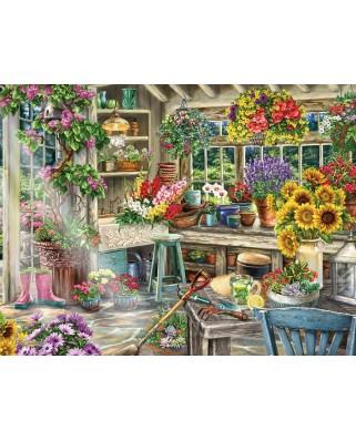 Puzzle Ravensburger - Idyllic Garden, 2.000 piese (13996)