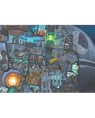 Puzzle Ravensburger - Star Wars, 1.000 piese (13976)