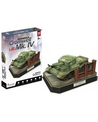 Puzzle 3D Cubic Fun - British Cromwell Mk. IV, 157 piese (Cubic-Fun-JS4203h)