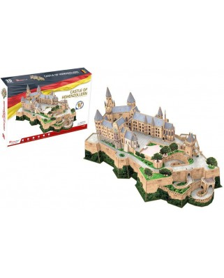 Puzzle 3D Cubic Fun - Castle of Hohenzollern, 185 piese (Cubic-Fun-MC232h)