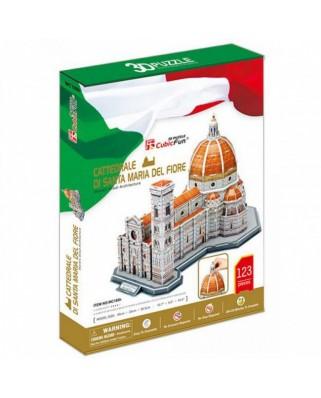 Puzzle 3D Cubic Fun - Cattedrale di Santa Maria del Fiore, 123 piese (Cubic-Fun-MC188H)
