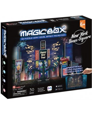 Puzzle 3D Cubic Fun - Magic Box - New York, 30 piese (Cubic-Fun-OM3608h)