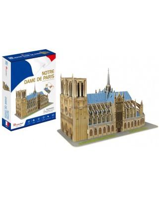 Puzzle 3D Cubic Fun - Notre Dame de Paris, 53 piese (Cubic-Fun-C242h)