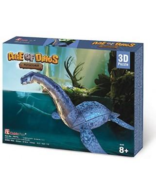 Puzzle 3D Cubic Fun - Plesiosaur, 38 piese (Cubic-Fun-P671h)