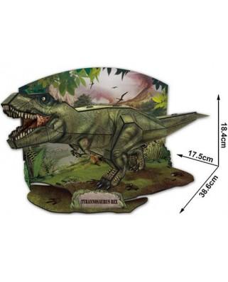 Puzzle 3D Cubic Fun - T-Rex, 36 piese (Cubic-Fun-P668H)
