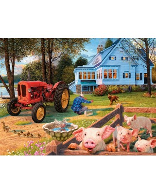 Puzzle fosforescent Master Pieces - Welcome Home, 550 piese (Master-Pieces-31839)