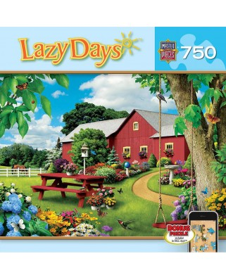 Puzzle Master Pieces - Alan Giana: Lazy Days - Picnic Paradise, 750 piese (Master-Pieces-61404)