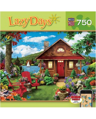 Puzzle Master Pieces - Alan Giana: Lazy Days - Waterfront, 750 piese (Master-Pieces-61402)